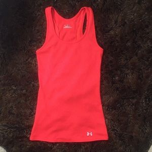 NWOT Under Armour coral tank top